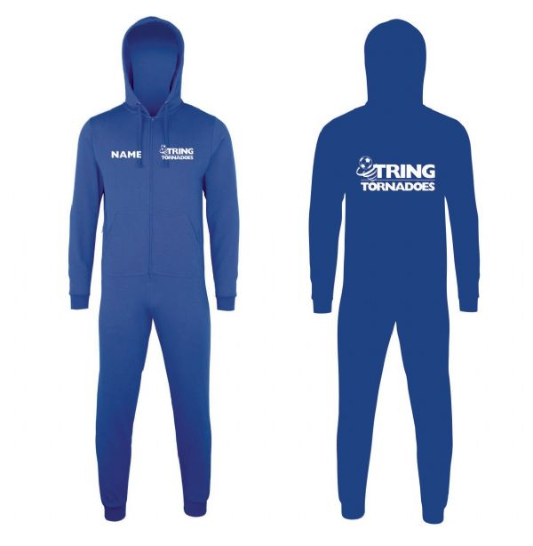 Tring Tornadoes Football Royal Blue Onesie